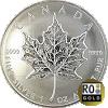 Maple Leaf - Silbermünze - Ankaufswert